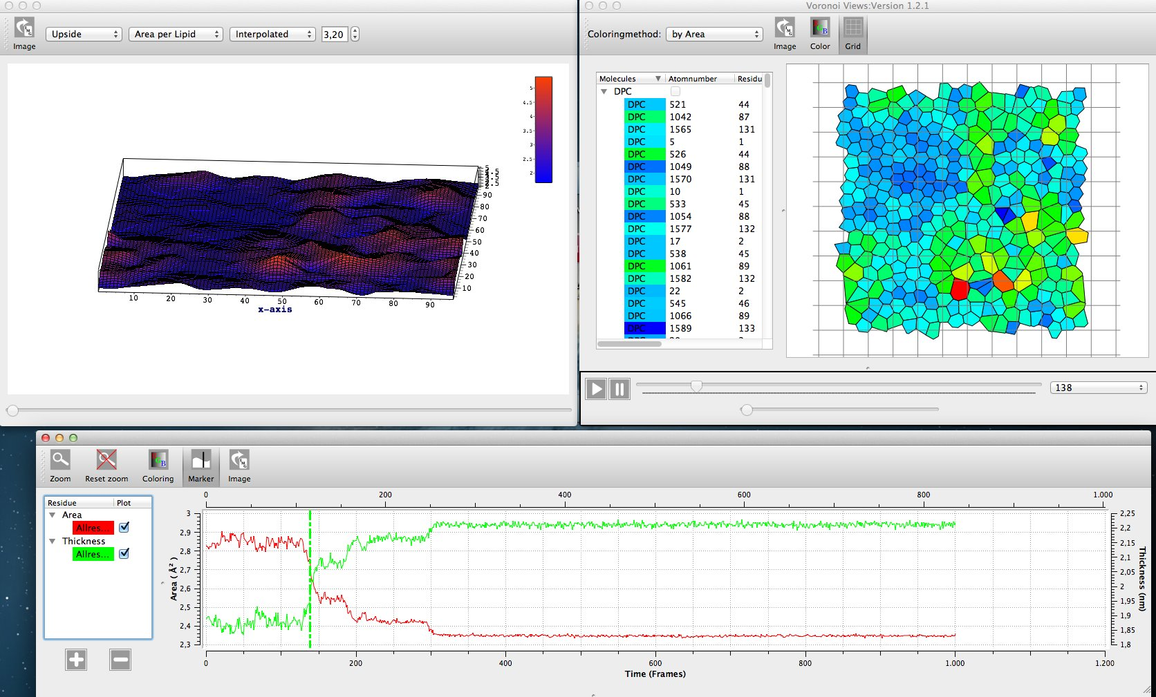 APL@Voro DPPC Layer Analysis